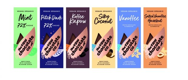 The Raw Chocolate Company Re Launches Its Range Of